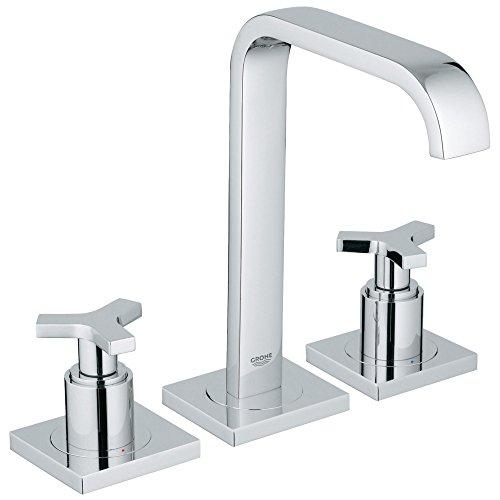 Allure 8 in. Widespread 2-Handle High Arc Bathroom Faucet - 1.5 -