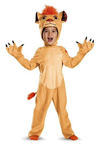 [Disguise Kion Deluxe Toddler The Lion Guard Disney Costume, Small/2T] (King Toddler Costume)