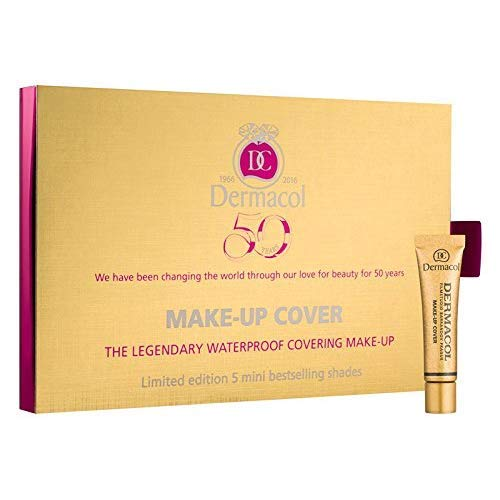Dermacol Make Up Cover Mini Set (208,212,213,215,221) with Dermacol - 212 Cover