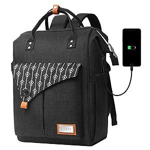Zaino per Laptop, Zaino per Computer Portatile 15.6 Pollici, Zaino Donna con Caricatore USB, Zaino Lavoro Donna per… 11 spesavip