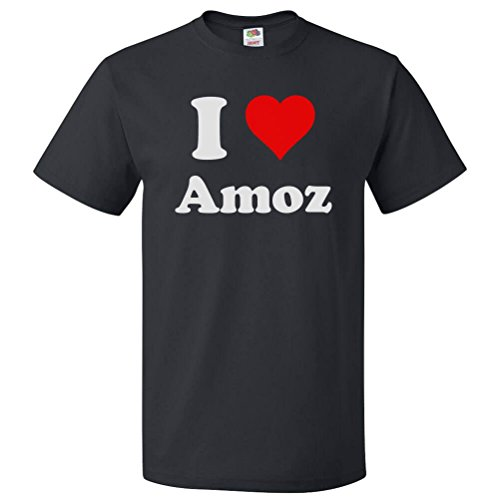 ShirtScope I Love Amoz T shirt I Heart Amoz Small