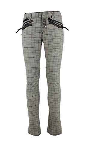 - MARITHÈ + FRANÇOIS GIRBAUD Men's 10199106010055O Grey Cotton Pants