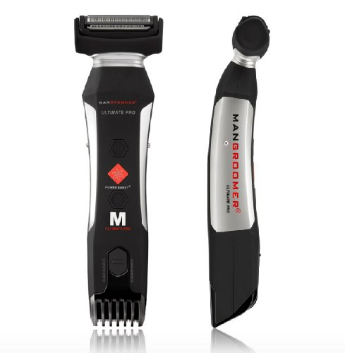 MANGROOMER Ultimate Pro Body Groomer and Trimmer with Power Burst