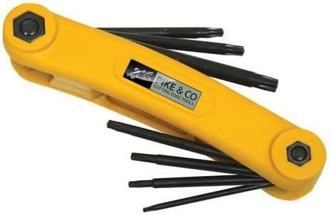 Pike y Co, Trx herramienta clave 7pce - T10-T40: Amazon.es ...
