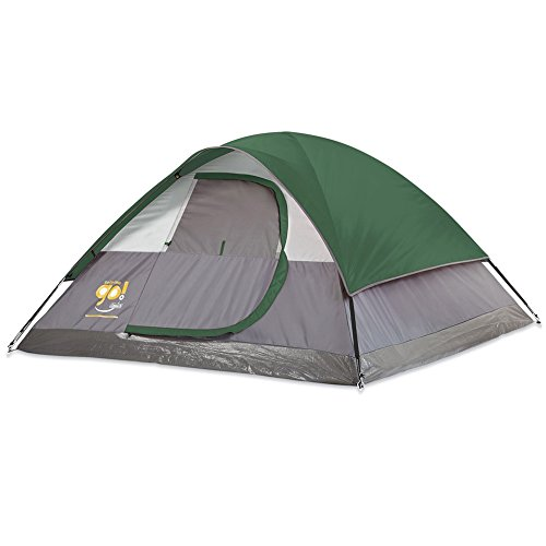 COLEMAN-OUTDOOR 2000018186 3-PERSON TENT 9FTX7FT GO DOME