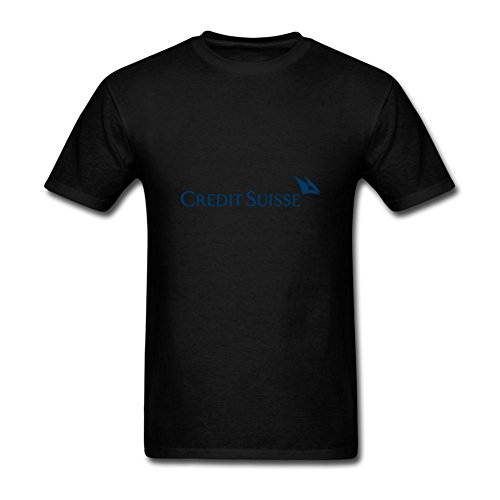 Oryxs Mens Credit Suisse T Shirt Xxl Black