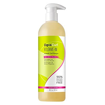 DevaCurl B'Leave-In Miracle Curl Plumper, Texture and Volumizing Hair Gel, Lightweight