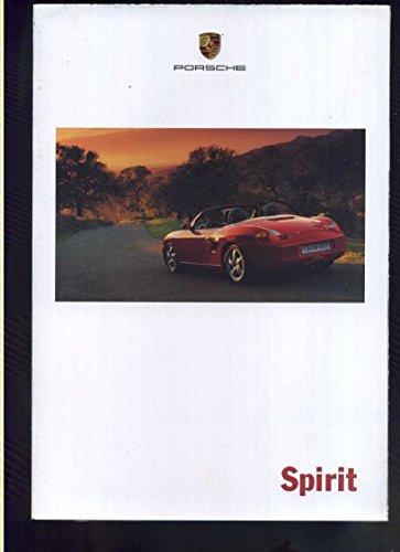 Porsche Sales Brochure - 1999 Porsche sales brochure/poster 911 Carrera Boxter MBX93