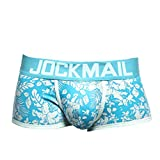 Men's Breathable Microfiber Trunk Underwear Covered Band Multipack,Fancy Print,MmNote