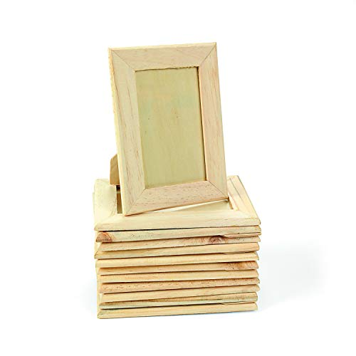 5 x 7 Unfinished Wood Picture Frames (set of 12)]()