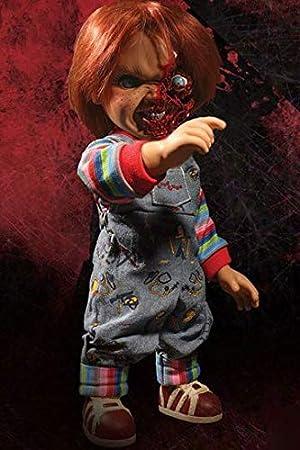 Muñeco Chucky 38 cm. Pizza Face, Muñeco diabólico 3. Con sonido ...