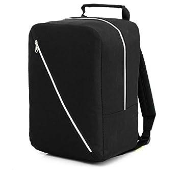 Rucksack Ryanair Cabin Bag 40x20x25 Free Handbag Luggage Tasche Handgepäck (Black)
