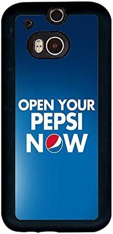 EternalaCover HTC One (M8) Caso, Marca Logo Pepsi-Cola Personalizado Especial Agradable plástico Carcasa: Amazon.es: Electrónica
