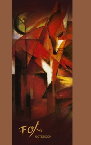 Paperboard Cover Journal - Fox Notebook: Gift / Notebook / Journal / Jotter ( The Fox by Franz Marc ) (Animal Series)