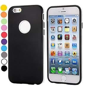 TL Cubierta Posterior - Color S¨®lido/Dise?o Especial/Innovador - para iPhone 6 ( TPU/Pl¨¢stico )(Rojo)
