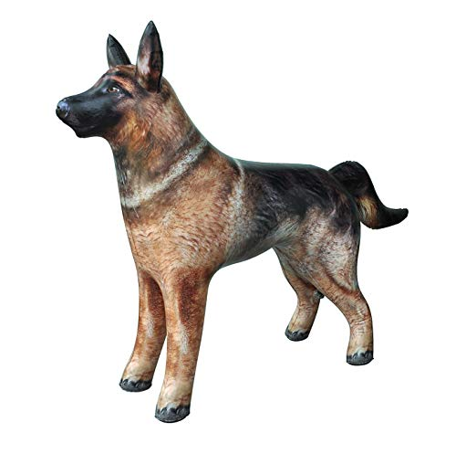 Jet Creations Inflatable German Shepherd Dog K9 pet Animal 41 inch Long for Party Decoration Gift Pool Toy an-Shepherd