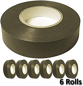 3//4 Width x 60 Length Color: White 3 Pack Electriduct General Purpose Vinyl Electrical Tape