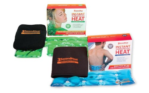 Neck and Back Pain Heat Pad Package!!