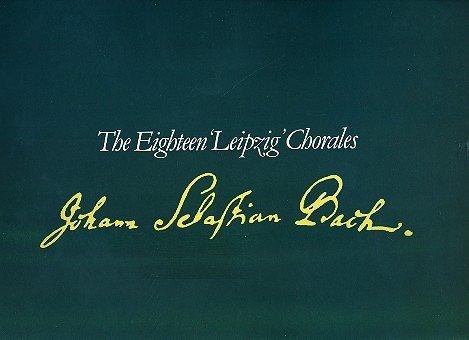 Js Bach Organ Music - Organ Music of J.S. Bach: Leipzig Chorales