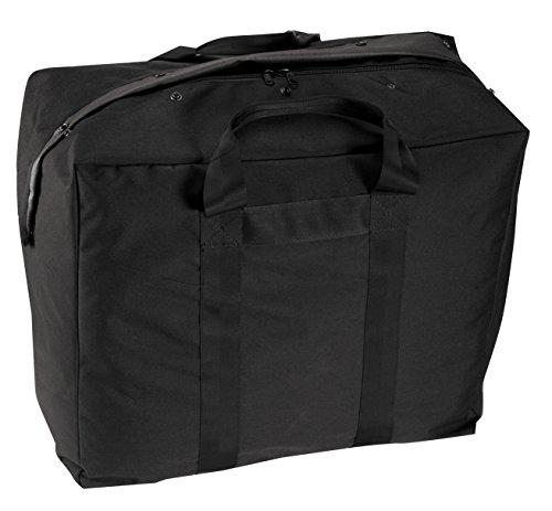 Rothco Enhanced Aviator Kit Bag, Black