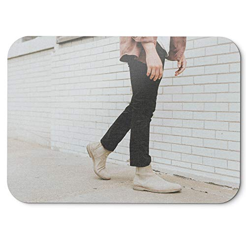 uy - Mouse Pad - Non-Slip Rubber Picture Photography Home Office Computer Laptop PC Mac - 8x9 inch (D41D8) ()