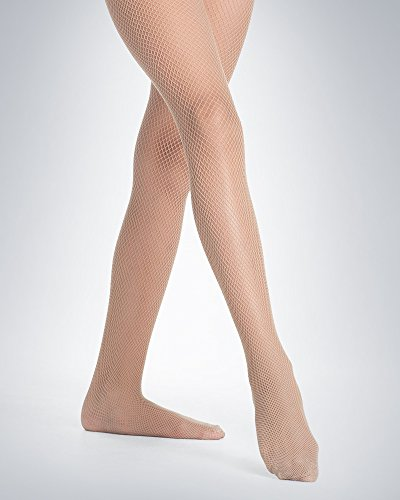 Danskin Fishnets - Danskin Girls Seamless Fishnet Tights 710 (M/L, Light Toast)