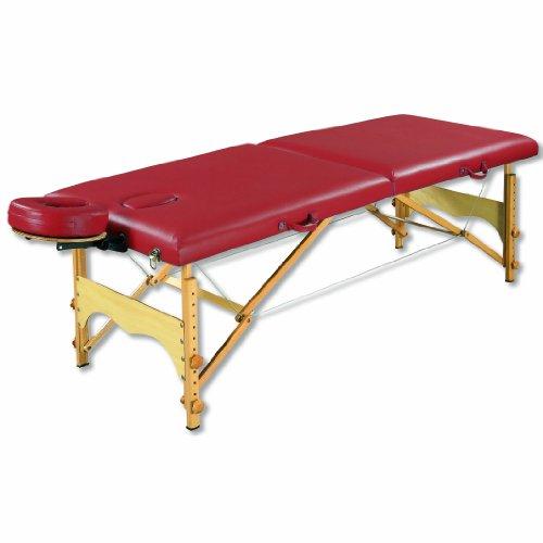 - 3B Scientific W60601BG Red Basic PorTable Massage Table, 72.5