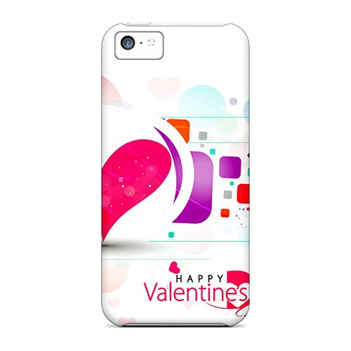 Premium Happy Valentines Day Heavy-duty Protection Case For Iphone 5c