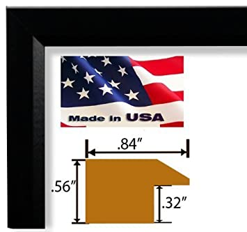13x19 single custom cut designer black real poplar wood 84 inch moulding picture frames poster