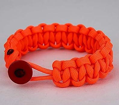 Amazon com: Unity Band Solid Color Paracord Bracelet (Neon