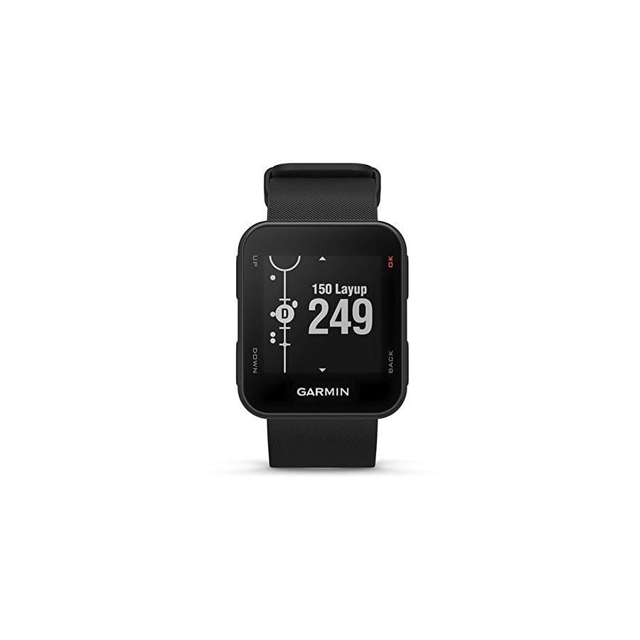 Garmin Approach S10 Lightweight GPS Golf Watch, Powder Gray, 010 02028 01