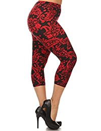 World of Leggings® PLUS SIZE Spring Summer Sassy Capris Leggings - Shop 45 Styles