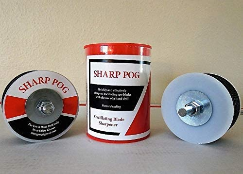Sharp Pog Oscillating Saw Blade Sharpener