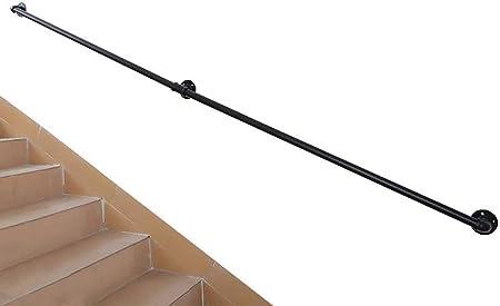 MYPNB Barandillas Escalera de barandilla pasamanos 30cm600cm Escaleras Pasamanos, Industriales Viento Hierro Forjado Ancianos Seguridad Barandilla, for Interiores y Exteriores Corredor del ático: Amazon.es: Hogar