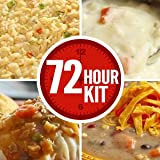 Emergency Survival Food Supply - 72 Hour Kit - 16 Servings