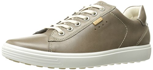 ECCO Women's Soft 7 Fashion Sneaker, Warm Grey, 38 EU/7-7.5 M US