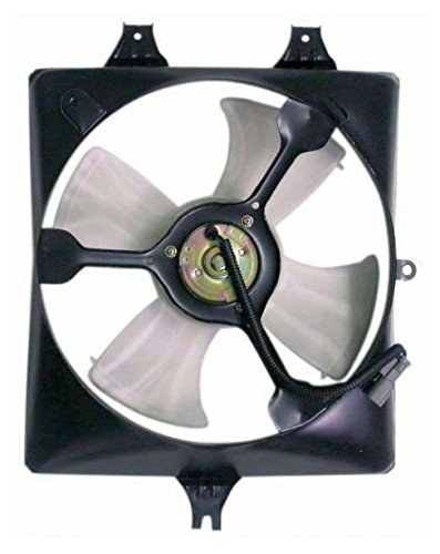 AC A/C Condenser Cooling Fan Assembly Passenger Right RH for 03-07 Honda Accord