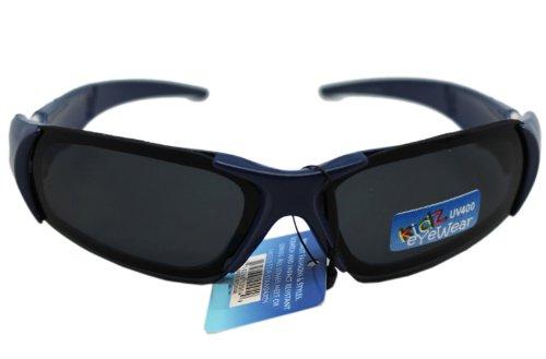 Navy Blue X-Frame Square Lens Kidz Eyewear - Sunglasses F21