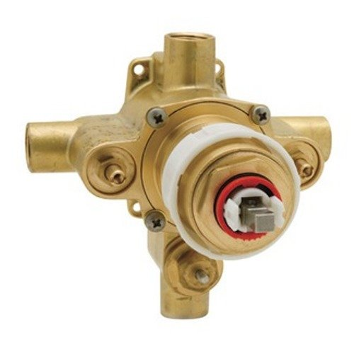Rohl R2014C Pressure Balance Cast Brass Rough Valve Only with Integrated Volume Control and Diverter (Balance Shower Pressure Control)