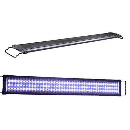Acuarios Eco 8-33W LED Acuario iluminación aufsetzl euchte Azul Blanco aquairum lámpara Candelabro 36-121cm