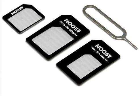 CABLEPELADO Adaptador de Tarjeta nanoSIM microSIM y SIM para movil: Amazon.es: Electrónica