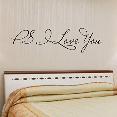 Ussore Wall Sticker I Love You Removable I Love You Removable Art For Kids Home Living Room House Bedroom Bathroom Kitchen Office Home Decoration