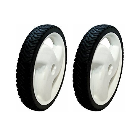 - TWO (2) 105-1816 TORO PUSH MOWER REAR HI-WHEELS 20012 20016 20019