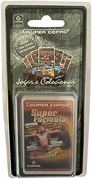 Jogo De Cartas Super Copag Trunfo Cards Blister Colecionável Super Formula