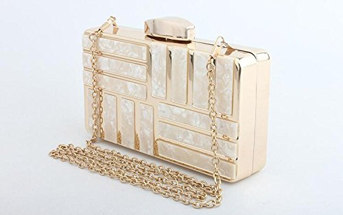 Bag Clutch Bag Handbag Bag Party Shoulder Chain Gold Bag Bags Clutch Evening Wedding Women's Elegant 1AqT4w1