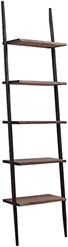 From the Source 5 Shelf Mika Bookcase Reclaimed Teak
