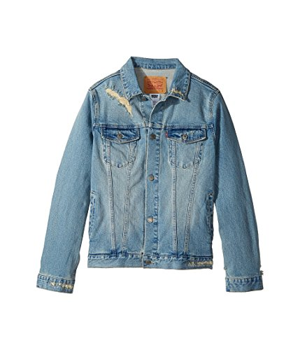 Levi's Big Boys' Denim Trucker Jacket, Vintage Fade, XL