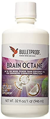Bulletproof Brain Octane Oil 32 oz by BulletProof