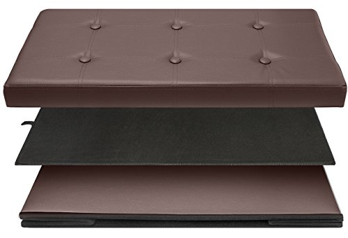 Phenomenal Sorbus Storage Bench Chest Collapsible Folding Bench Inzonedesignstudio Interior Chair Design Inzonedesignstudiocom