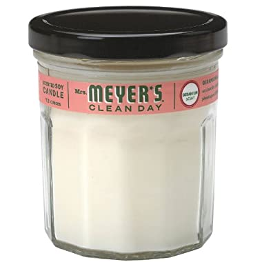 Mrs. Meyer's Clean Day Soy Candle-Geranium-7.2oz